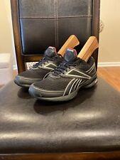 Reebok Easytone smoothfit Black Athletic Walking Casual Shoes Women's Size 8