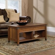 Sauder Carson Forge Lift Top Coffee Table, Cherry