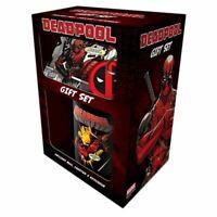 Marvel Deadpool Merc Goals Coaster Mug and Keyring Gift Set - Boxed