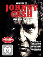 TRIBUTE TO JOHNNY CASH - LIVE IN CONCERT (SPECIAL COLLECTORS EDITION)  DVD NEW+