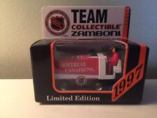 1997 MONTREAL CANADIANS ZAMBONI /WHITE ROSE COLLECTIBLES