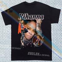 LIMITED Inspired Rihanna Rap T-SHIRT NEW Tour Merch RARE