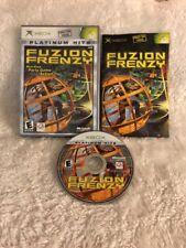 Fuzion Frenzy (Microsoft Xbox, 2004) **COMPLETE**