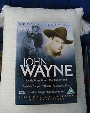 John Wayne 3 Disc Special Edition Box Set DVD Region 0 -6 Films.