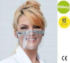 VITBERG  Mini Shield Visor Face Mask 2 pcs. Washable BREATHABLE REUSABLE PPE