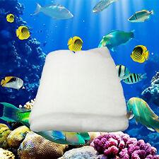 White Foam Sponge Cotton Pad Filter Media For Aquarium Fish Tank Filter Pump NEW