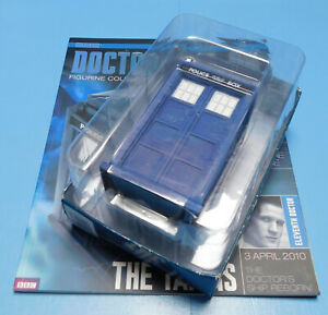 Eaglemoss Doctor Who Special #1 The 11th Doctor's Tardis Model & Magazine