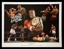 *New* James Buster Douglas Signed Boxing 12x16 Montage