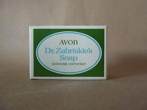 Avon Dr. Zabriskie's Seife 85g Neu unbenutzt Vintage