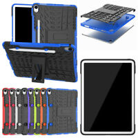 Hybrid Rugged Shockproof Rubber Case + PC Stand Cover For iPad Pro 11 Inch 2018