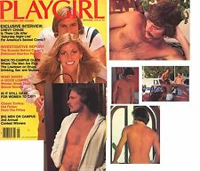 PLAYGIRL 9-78 SEPTEMBER 1978 ORIG CAMPUS MEN! IVY LEAGUE! CHEVY CHASE STEPHEN TA