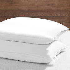 2 Pack Gusseted Goose Down Feather Sleep Pillows Alternative Queen King Size B 00006000 ed