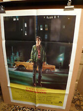 TAXI DRIVER 1976 US-1 SHEET ORIGINAL FILM CINEMA POSTER Peellaert Art