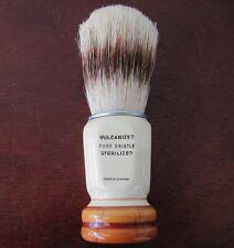 Antique Vintage Dubl Duck 225 Shaving Brush Wood Handle Vulcanized Pure Bristle