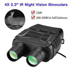 300 Yards Digital Binoculars IR Night Vision Telescope Support Photos Playback