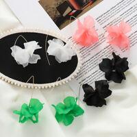Schmuck Kristall Rhinestone Ohrringe aus Ohrringen Muster der Blume Drop Dangle
