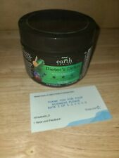 GNC Earth Genius dieter's detox Green Apple, 14 Servings 4.8Oz  exp 4/20