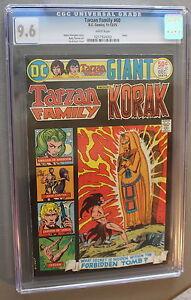 TARZAN FAMILY #60 1st DC KORAK 1975 CARSON VENUS Giant Kubert Kaluta CGC NM+ 9.6