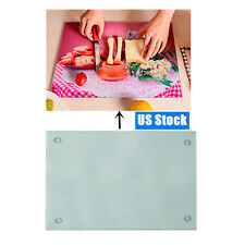 Us Stock 12pc Sublimation Blank Tempered Glass Cutting Board With Coating Glossy