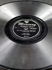 Mercury 5012 Jack Fina HUNGARIAN RHAPSODY / IT'S WAY PASY MY BEDTIME 78 V+