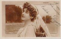 Cecile Eyreams Reutlinger Postcard - French Opera Soprano - 1907