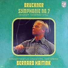 Bernard Haitink~Dut 2XLP Bruckner Symphony No. 7 Wagner Philips 6769 028 1979