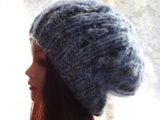 Hand Knitted, Hand Made, Slouchy Ladies/Men's Beanie