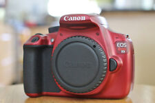 MINT Canon Rebel T5 RED DSLR 18.0MP Camera w/ EF-S 18-55mm Lens  (2 LENSES)