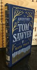 THE ADVENTURES OF TOM SAWYER by MARK TWAIN Leatherbound Collectible & BRAND NEW
