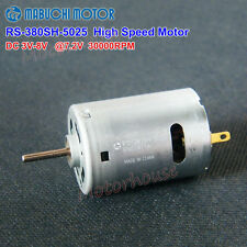Mabuchi rs-380sh-5025 dc motor dc 3v 5v 6v 7.2v 30000rpm high speed carbono Brush