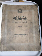 ALBION CHIEFTAIN SERIES II CH 3A VICTOR BUS VT 19A WORKSHOP SERVICE MANUAL CH3A