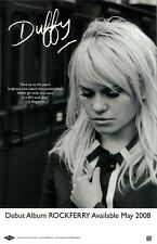 DUFFY poster - ROCKFERRY - promo poster - 11 x 17 inches