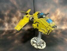 Warhammer 40k Space Marine Imperial Fists Stormraven Gunship Pro Painted (B4)