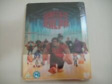 Wreck-It Ralph 3D (2012) - Limited Lenticular Steelbook 2-Disc Set Blu-Ray | New
