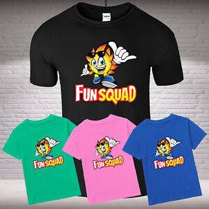 Fun Squad Kids Boys Girls Gaming T-Shirt Birthday Cool FunYoutuber Childern