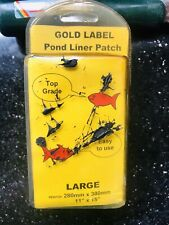 Gold Label Pond Liner Repair Patch LARGE 380mm x 280mm