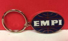 Vintage NOS EMPI Enamel Chrome Keychain Porsche VW
