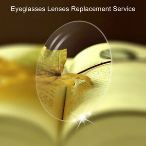 Lenses replacement service for our rimless eyeglass glasses frames harden