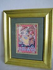 "Mary Engelbreit ""The Princess Of Quite A Lot"" Print Framed And Matted 10"" x 13"""