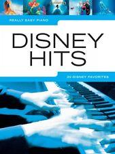 Really Easy Piano Disney Hits Sheet Music Really Book NEW 000154998