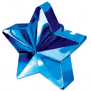 Balloon Star Weights - Party/Birthday - Choice of Colours (AMSCAN)