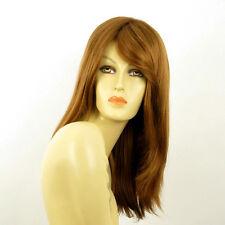 Perruque femme mi longue blond foncé ref TARA en 27