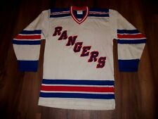 BRAND NEW VINTAGE DURENE DUREEN NY RANGERS HOCKEY JERSEY SANDOW SK SIZE  SMALL-38 c5a5a6796