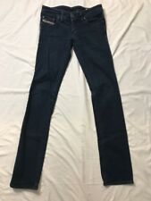 Diesel Women's Blue Lowky Jeans Size 25x32 Made In Italy