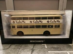 Büssing D2U KaDeWe Sondermodell BVG Bus Berlin Minichamps 439071081 1:43