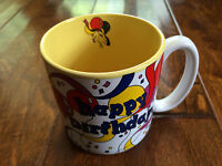 Happy Birthday coffee Mug, birthday present mug,