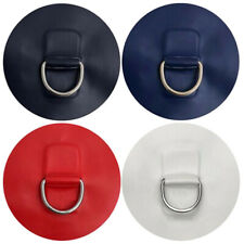 Metal Kayak D Ring Patch for Pvc Inflatable Boat Raft Dinghy Canoe Accessories