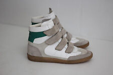 Isabel Marant Etoile 'Bilsy' Leather Hidden Wedge Sneaker - White - 9US  (X62)