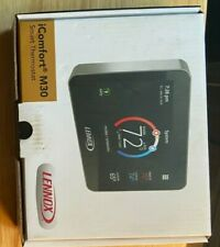 Lennox iComfort M30  Programable WiFi Touchscreen Smart Thermostat - Black