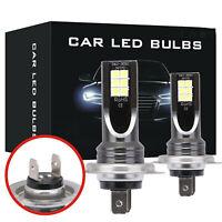 NEW! 2* H7 110W 24000Lm LED Car Headlight Conversion Globes Bulbs Beam 6000K